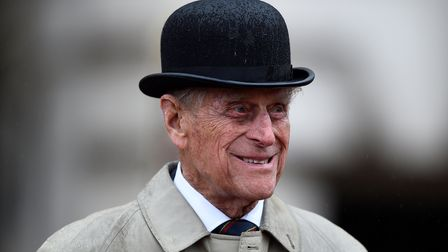 The Duke of Edinburgh attends the Captain General's Parade at his final individual public engagement