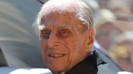 File photo dated 19/05/18 of the Duke of Edinburgh leaves St George's Chapel at Windsor Castle for t
