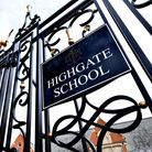 The gates of Highgate School, in North Road