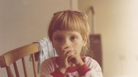 Sammi Sparke-whohad a double lung and kidney transplant-pictured aged four.