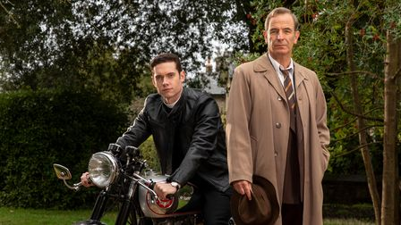 Robson Green stars in Grantchester, which can be seen onBritBox.