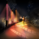 Lighting designerMichael Grubb Studio will be collaborating with students from South Devon College to deliver the project