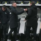 Derby County manager Wayne Rooney was pleased with how hard the Rams pushed Norwich City