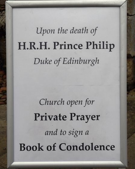 A book of condolence has been set up at All Saints Church in Huntingdon.