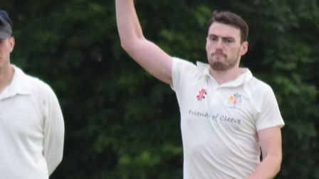 James Cole took three wickets for Cleeve in their friendly at Clevedon