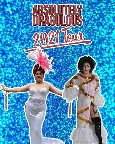 TheAbsolutely Dragulous 2021 tour is coming to to Westgate Ward Social Club in August