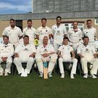 Nailsea's 1st XI face the camera