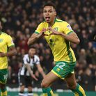 Jacob Murphy scoring for Norwich City against Newcastle United earlier in his career