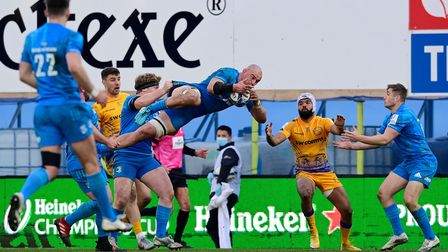 Rhys Ruddock of Leinster Rugby during the European Champions Cup Quarter Final Match between Exeter
