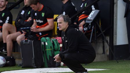 Is the pressure starting to get to Leeds boss Marcelo Bielsa? Picture: Paul Chesterton/Focus Images