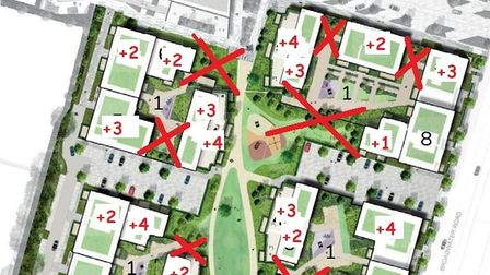 An updated look at the plans for the Broadwater South Site in Welwyn Garden City