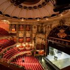 The empty auditorium of the London Coliseum, home of English National Opera (ENO)