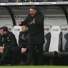 Daniel Farke at Derby before Norwich City tightened their grip at the top of the Championship with a 1-0 win