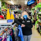 Helen Newman, owner of Honiton Sports Shop