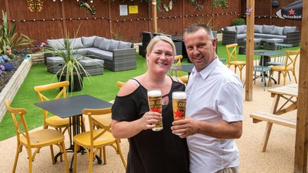 The Drill, Gidea Park is to re-open after a refurbishment. Licensees Kim FitzGibbon and her partner