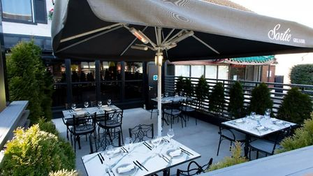 Sortie Bar and Grill is looking fancy and ready for some chic Al Fresco dining