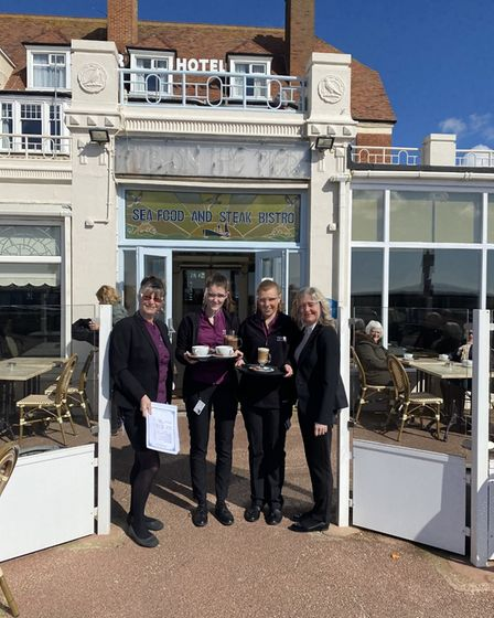 Staff at Pier Hotel Gorleston