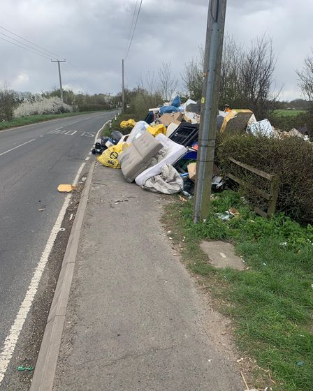Residents were worried the refuse would obstruct traffic