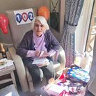 Marion Inman celebrated her 102nd birthday at Oakview Lodge Care Home in Welwyn Garden City