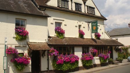 The Drummond Arms inAlbury, Surrey near the River Tillingbourne