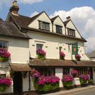 The Drummond Arms in Albury, Surrey near the River Tillingbourne