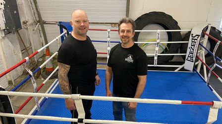 Mark Whitworth and head coach Andy Williams will welcome back members indoors at Norwich Broadside Boxing Club