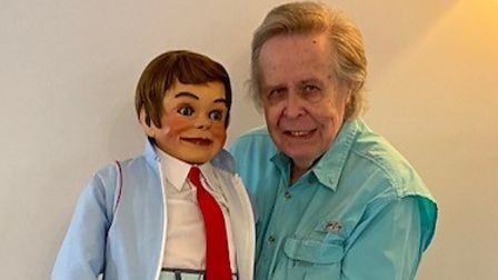 Former TV ventriloquist John Bouchier is now enjoying his retirement at Moorhouse Lodge in Huntingdon.