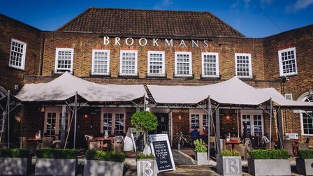 Brookmans pub in Brookmans Park has expanded its outdoor seating area to accommodate more guests