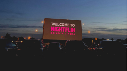 Nightflix will be bringing drive-in cinema toLondon Luton Airport.