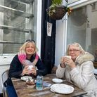Sarah Goodwin, who visited Tea Amo with mum Linda Hunts