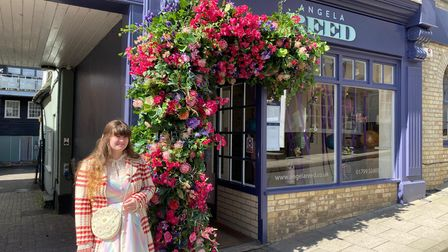 """Antonia Overend who visitedReed shopssaid: """"We will be hitting the pub gardens as soon as the weather cheers up."""""""