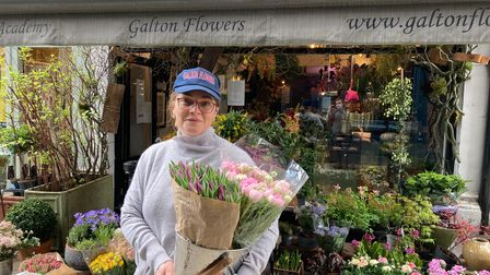 Sayeh Rafiei, director of Galton Flowers