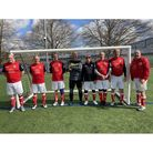All smiles for Weston Reds as they pose for the camera