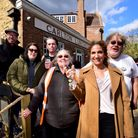 Celebrating the opening of The Carlton tavern 12.04.21.