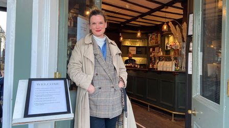Lauren Gregory, owner of the Sir Garnet pub, saw a busy but manageable first day of trade.