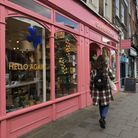 Oliver Bonas in Upper Street was busy as non-essential shops in Upper Street opened back up