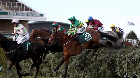 Minella Times ridden by Rachael Blackmore during the Grand National