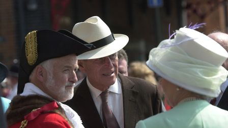 Prince Philip at Ipswich Waterfront