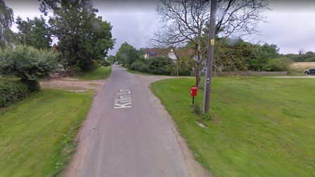 A George V Royal Mail postbox was stolen from Kiln Lane, in Stowlandtoft.
