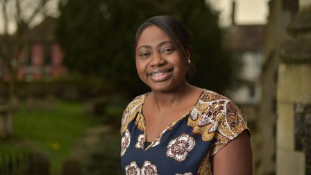 Funmi Akinriboya, founder of the BMESuffolk Support Group, has started a youth library