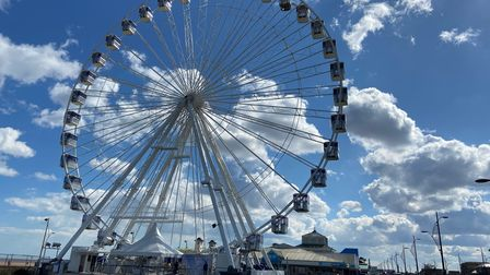 Giant wheel along the seafront