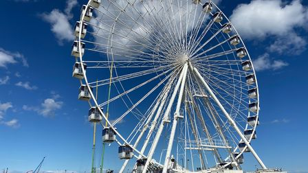 The giant wheel along the seafront