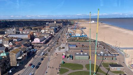The Great Yarmouth tower and Britannia Pier are visible.