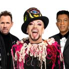 Culture Club members Roy Hay, Boy George and Mikey Craig will be performing an outdoor show at Audley End, Saffron Walden.