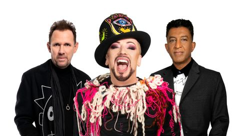 Culture Club membersRoy Hay, Boy George and Mikey Craig will be performing an outdoor show at Audley End, Saffron Walden.