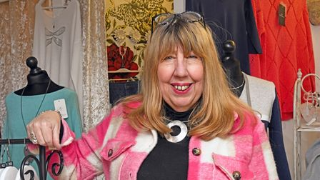 Carol Pittom, the owner of Capsule Boutique in Cross Keys in St Neots.