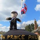 Knitted Prince Philip tribute