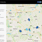 Hertsmere's new heritage map showing culturally significant sites
