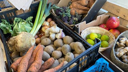 Fruit and vegetables on offer at Simply Green.