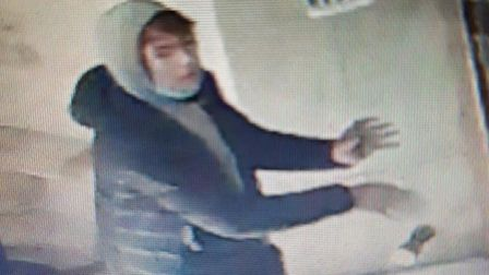 Do you recognise this man, who is suspected of breaking into the collection boxes at St Albans Cathedral?